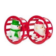 Weihnachts-Aufziehfigur - Wichtelwerkstatt