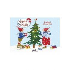 Weihnachtsmalbuch - Pippa & Pelle