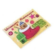 Weihnachtsmalbuch - Weihnachtsstiefel