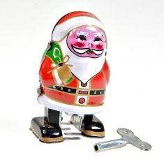 Weihnachtsmann aus Blech