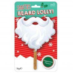 Riesenlolli - Weihnachtsmann-Bart
