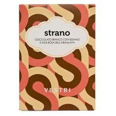 Weiße Schokolade mit Gomasio - Strano