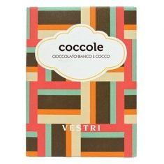 Weiße Schokolade mit Kokosraspeln - Coccole