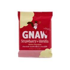 Weiße Schokolade - Strawberry + Vanilla, Gnaw