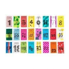 Wertmarken - Advent (Zahlen 1-24)