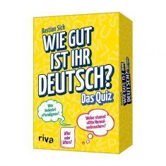 Kartenset - Wie gut ist Ihr Deutsch? Das Quiz