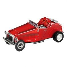 Wind-Up Bausatz - Red Car
