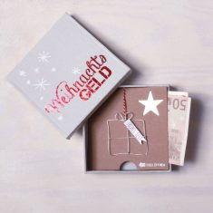 Winter Geldgeschenkbox - Weihnachtsgeld