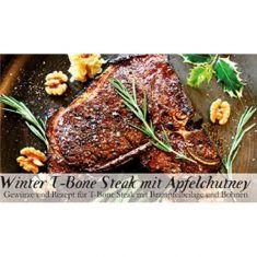 Gewürzkästchen - Winter T-Bone Steak mit Apfelchutney