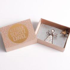 Winter Wunschbox - Kleiner Schutzengel, gold