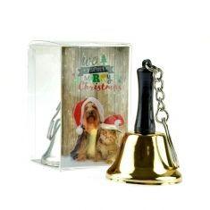 Wunschglöckchen mit Schlüsselanhänger - Merry Christmas