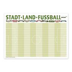 Tischset Stadt-Land-Fußball