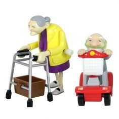 Aufziehbar - Oma & Opa, 2er-Set