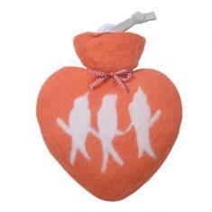 Herzwärmflasche - Vögelchen
