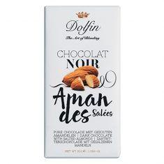 Zartbitterschokolade - Amandes Salèes, Dolfin