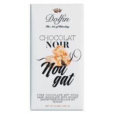 Zartbitterschokolade - Nougat, Dolfin