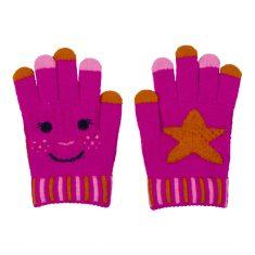 Zauberhandschuh - Fröhliche Weihnachten, pink