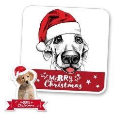 Zauberhandtuch - Merry Christmas, Puppy
