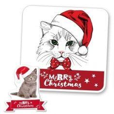 Zauberhandtuch - Merry Christmas, Kitty