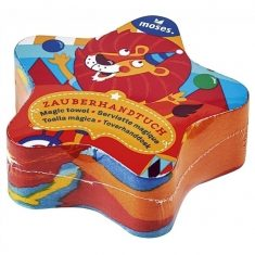 Zauberhandtuch - Waschbär & Co.