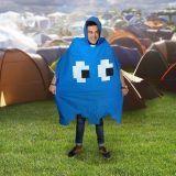 Regencape - Retro Arcade Poncho, blau