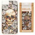 Design Handyhülle - Totenkopf, Skulls & Roses