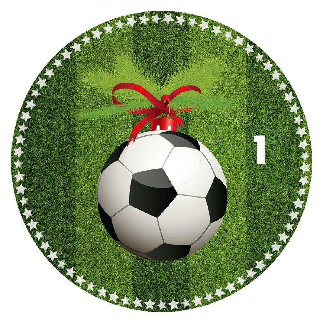Fussball Adventskalender 11 Weihnachtsmanner Musst Ihr Sein