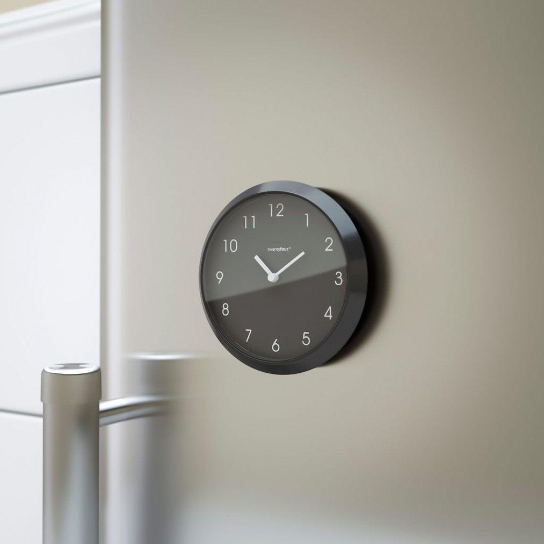 magnetische uhr tic tac. Black Bedroom Furniture Sets. Home Design Ideas