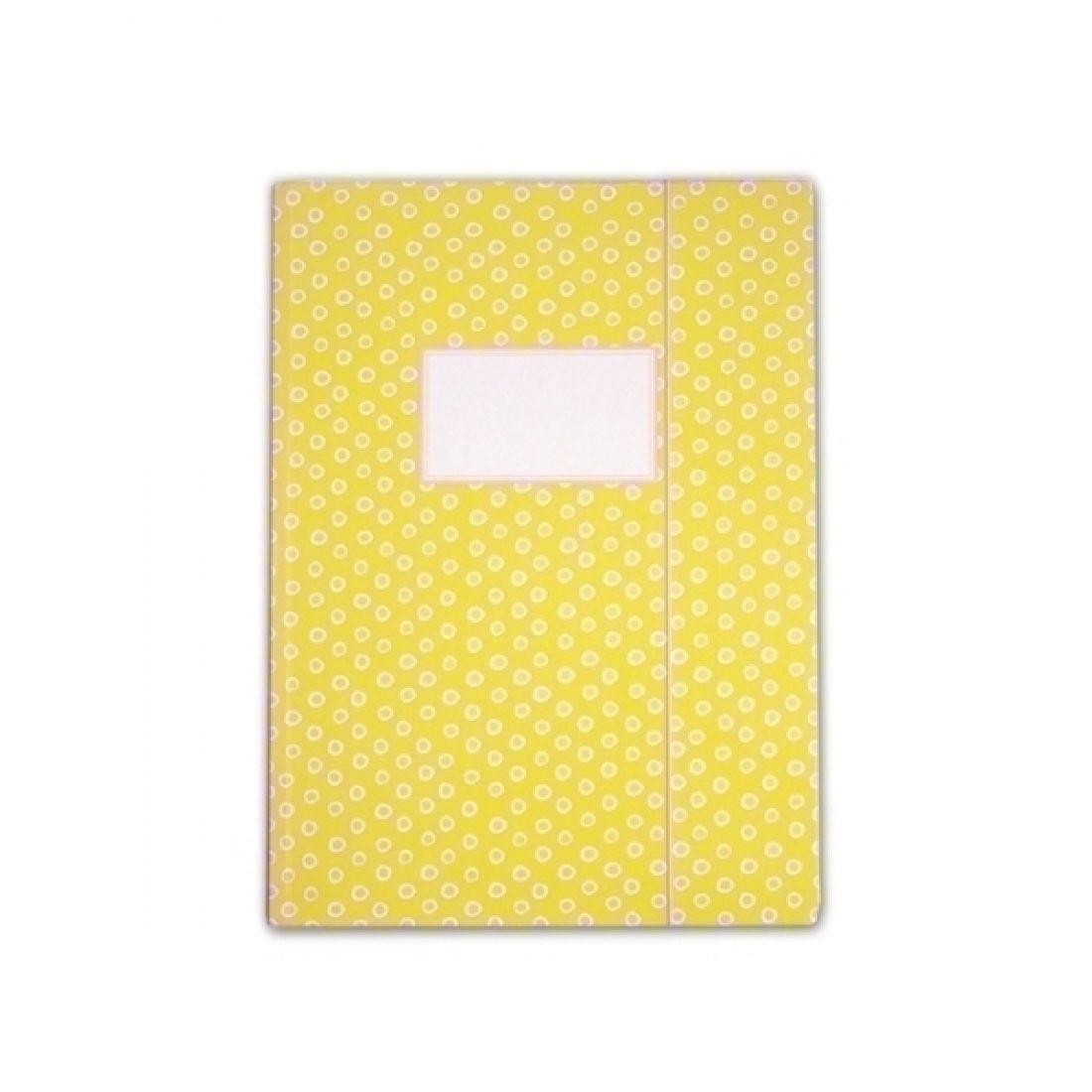 sammelmappe tupfer gelb din a4. Black Bedroom Furniture Sets. Home Design Ideas
