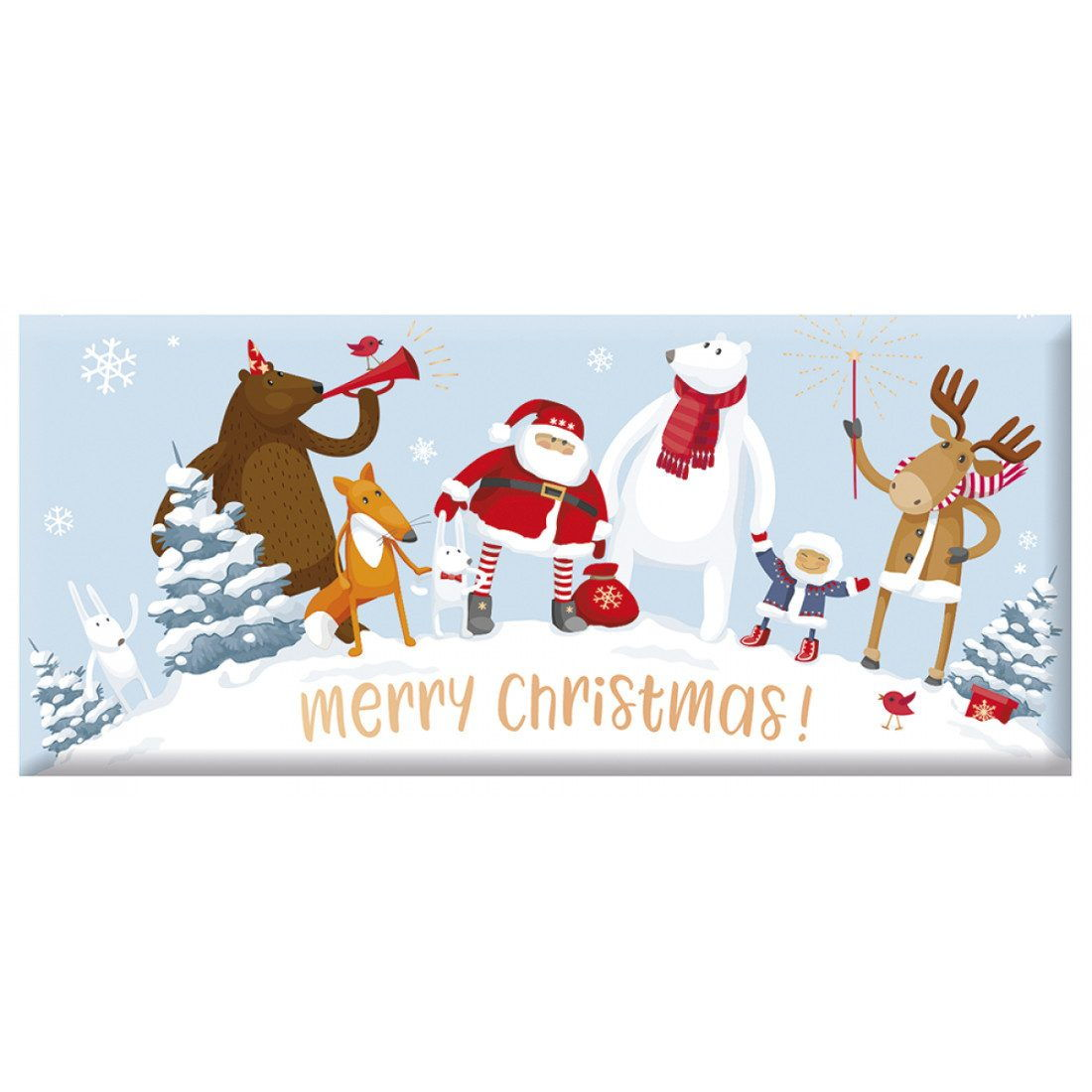 Schoko - Merry Christmas, Santa & Freunde